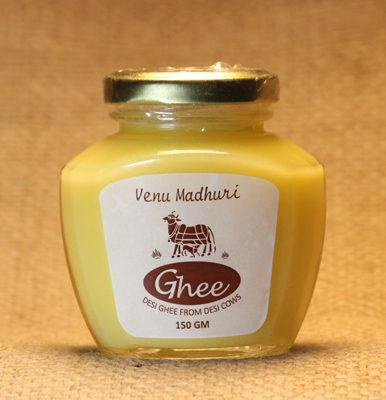 Desi Cow Ghee (Glass Bottle) 150 g