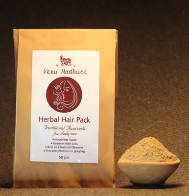 Herbal Hair Pack 50gm